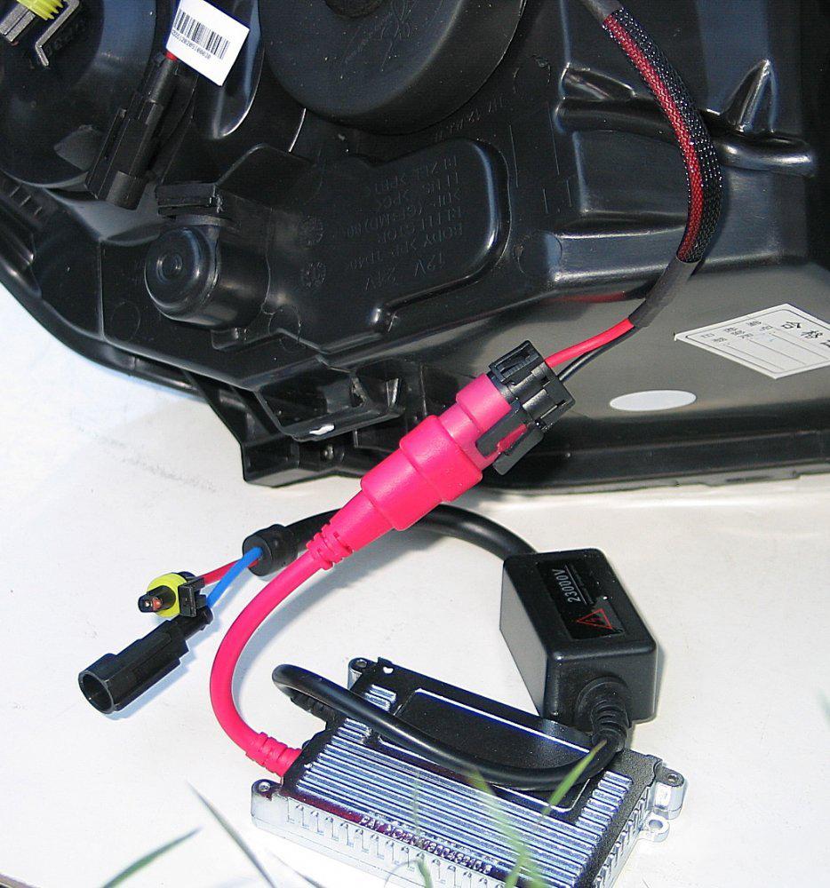 Установка ксенона на форд фокус 3 своими руками 64